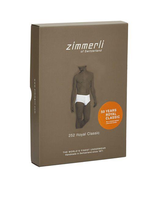 Zimmerli - White Royal Classic Briefs for Men - Lyst