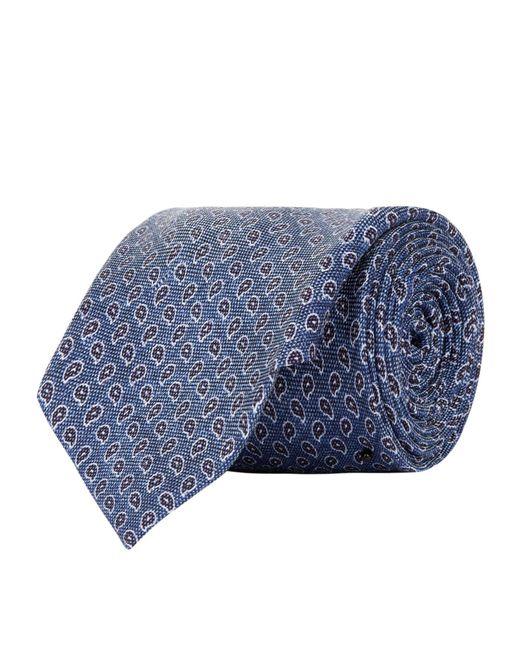 Corneliani   Blue Paisley Tie for Men   Lyst