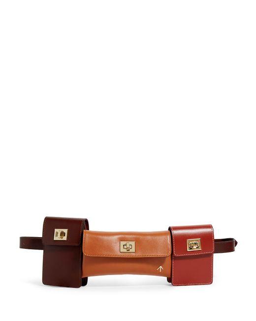 MANU Atelier Multicolor Multi-way Tech Belt Bag