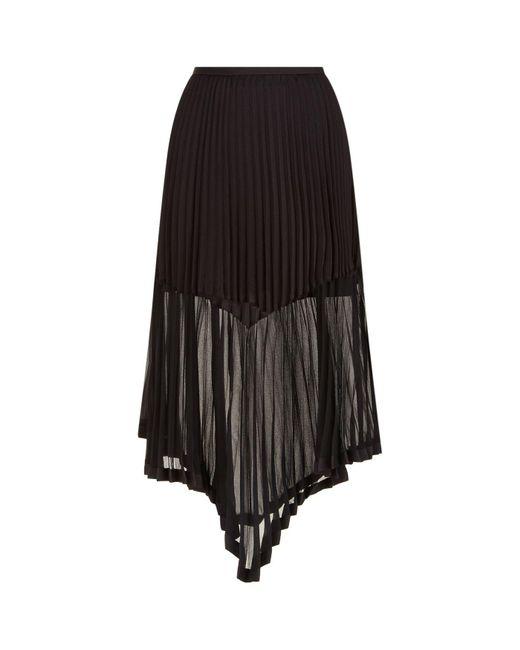 Keepsake | Black Be The One Pleated Midi Skirt | Lyst