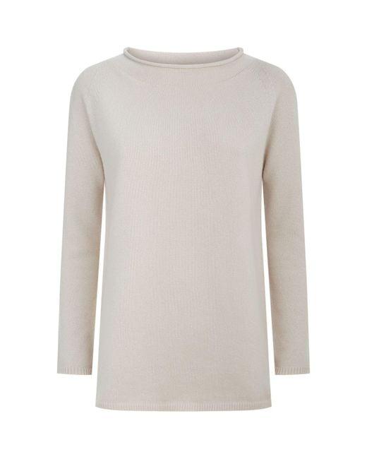 Max Mara | Natural Ursola Cashmere Sweater | Lyst