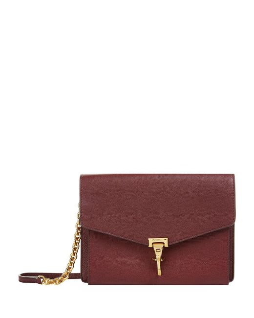 Burberry - Red Small Leather Cross Body Bag - Lyst