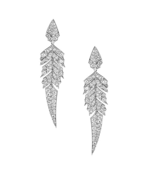 Stephen Webster - Metallic Magnipheasant Pavé Short Earrings - Lyst