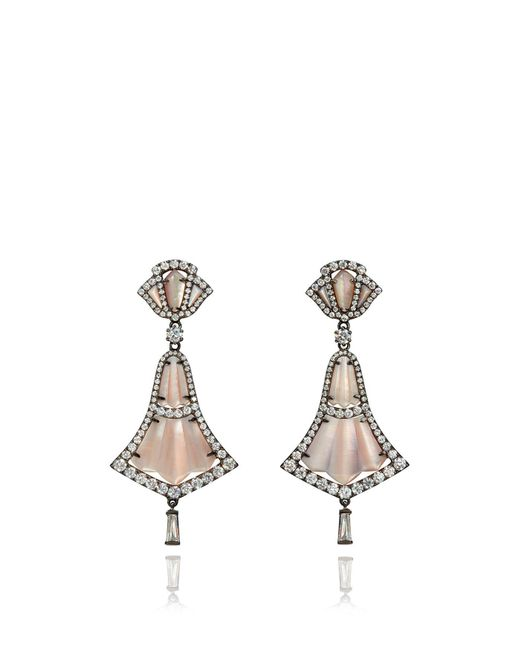 Annoushka - Metallic Flamenco Drop Earrings - Lyst