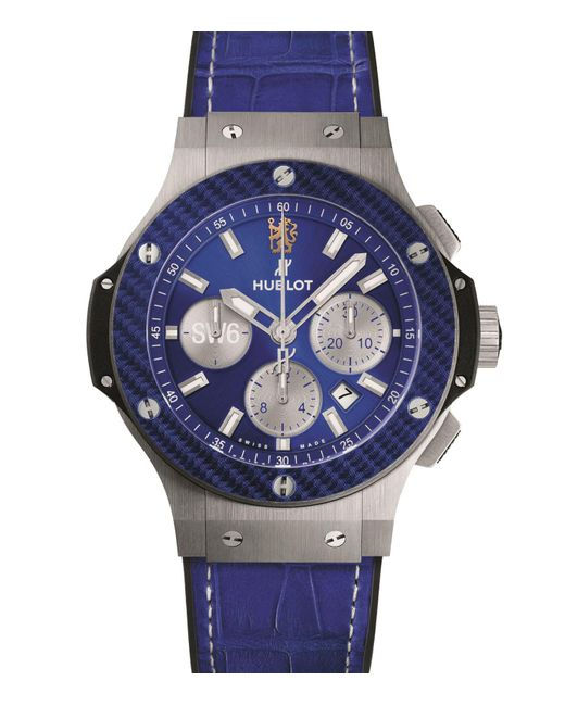 Hublot - Blue Big Bang Chelsea Fc Limited Edition Watch for Men - Lyst