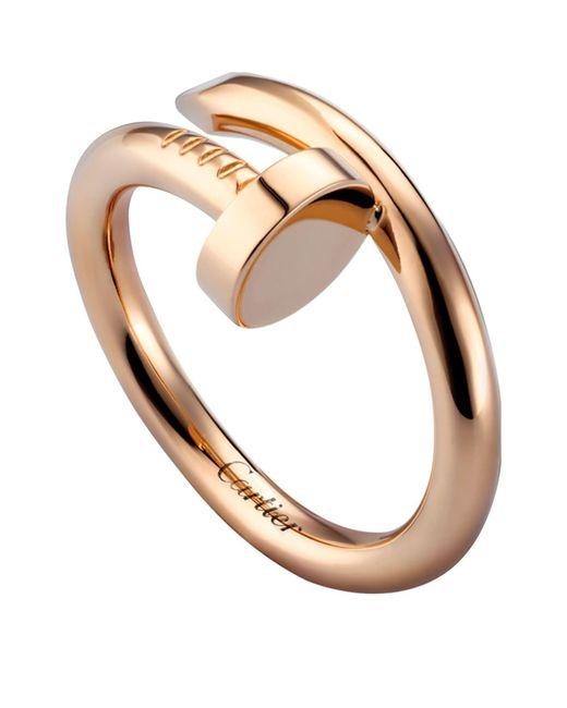 Cartier - Metallic Pink Gold Juste Un Clou Ring - Lyst