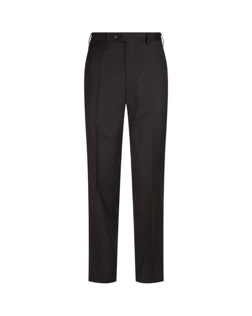 Brioni - Gray Tailored Trousers for Men - Lyst