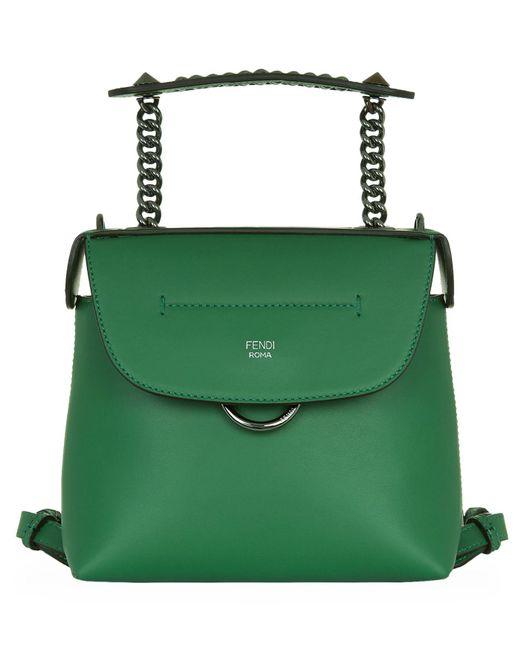 Fendi | Green Mini Back To School Backpack | Lyst