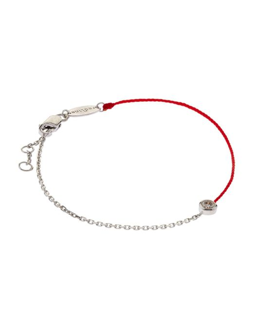 RedLine   Red Pure Double Bracelet   Lyst