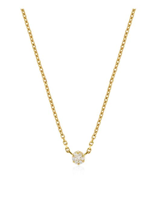 RedLine | Metallic Diamond Illusion Chain Necklace | Lyst