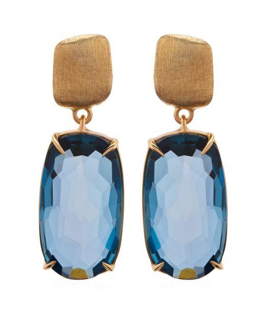 Marco Bicego | Metallic Murano Topaz Drop Earrings | Lyst