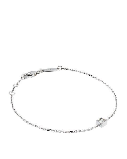 RedLine | Metallic Chain Cube Bracelet | Lyst