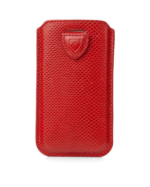 Aspinal   Red Iphone 6 Sleeve   Lyst