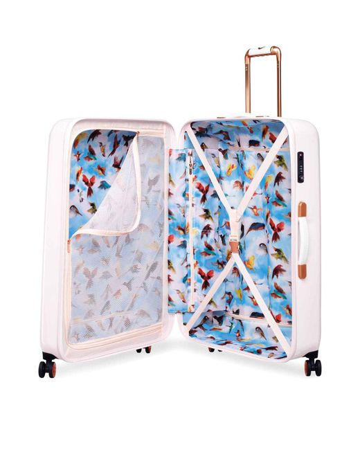 Ted Baker Oriental Blossom Suitcase In Pink Lyst