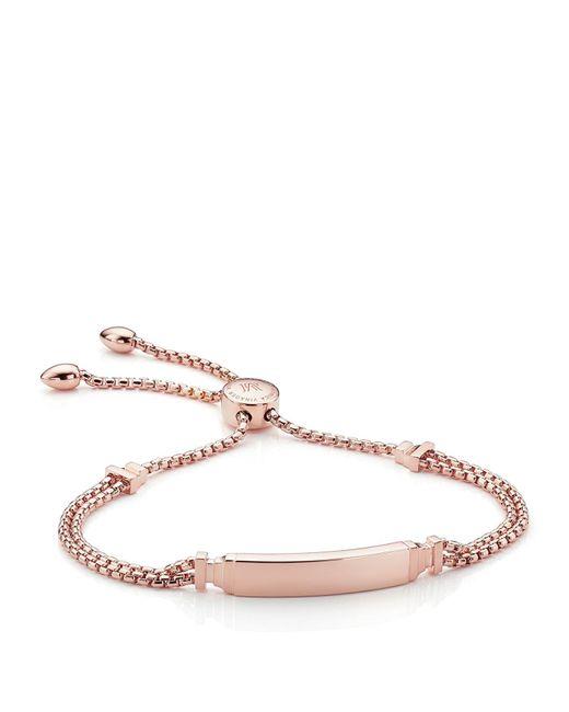 Monica Vinader   Metallic Baja Deco Id Bracelet   Lyst
