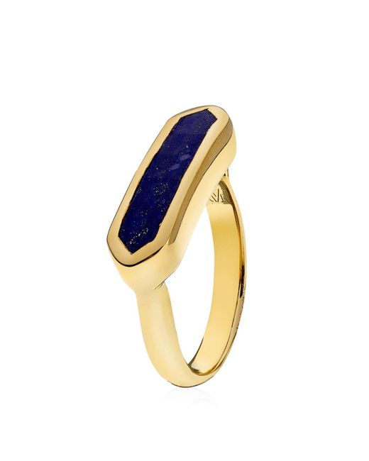 Monica Vinader | Blue Baja Ring | Lyst