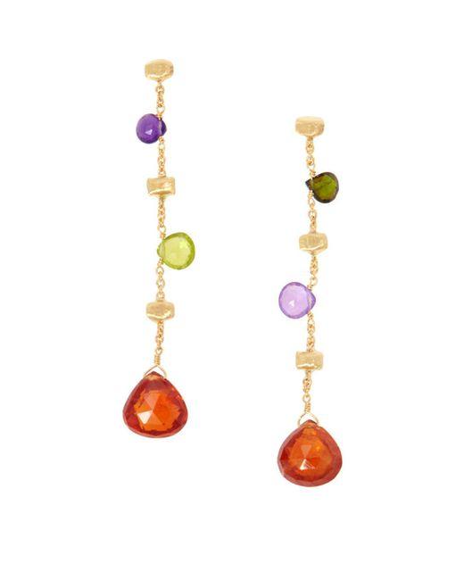 Marco Bicego - Metallic Yellow Gold Paradise Gemstone Drop Earrings - Lyst