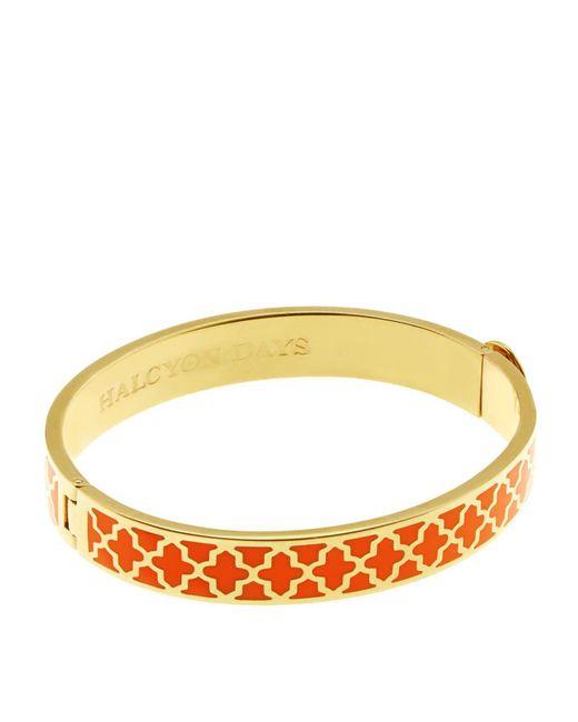 Halcyon Days | Orange Gold Agama Bangle | Lyst