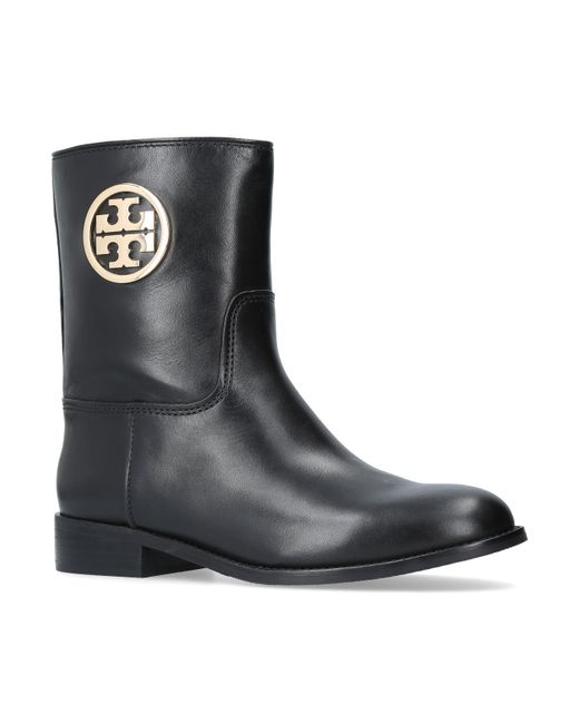 Tory Burch | Black Arielle Boots | Lyst
