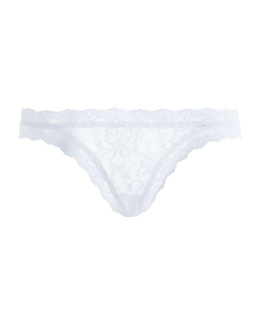 Hanky Panky - White Signature Lace Brazilian Briefs - Lyst