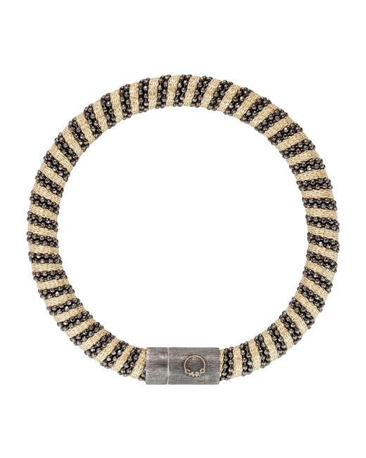 Carolina Bucci | Black Gold-plated Woven Bracelet | Lyst
