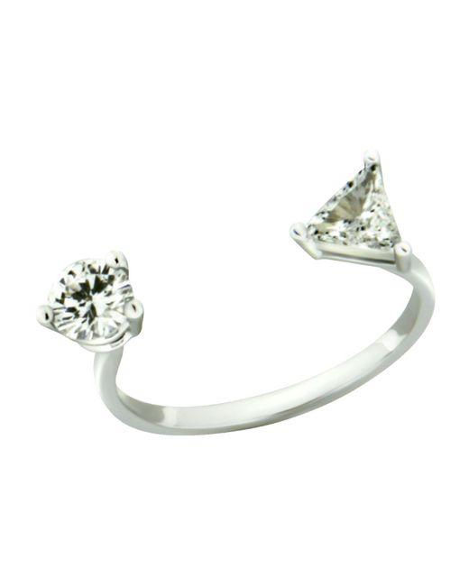 Delfina Delettrez | Metallic Diamond Dots Ring | Lyst