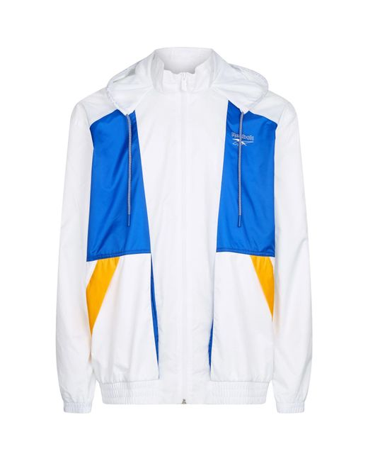 d9dce51a18b Reebok Classic Vector Windbreaker in White for Men - Save 1% - Lyst