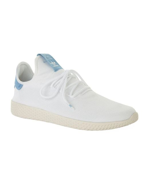 Adidas Originals - White Pharrell Williams Tennis Hu Sneakers for Men - Lyst