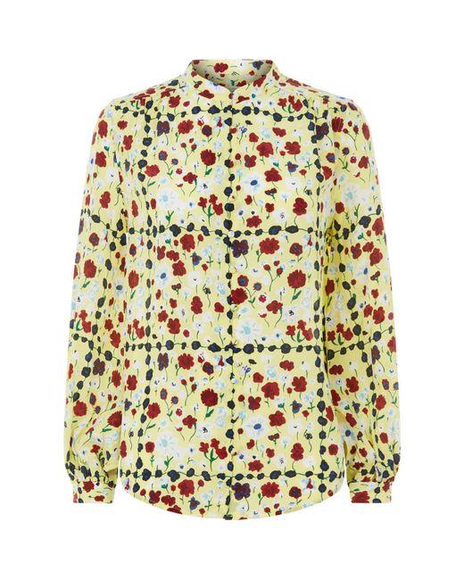Equipment - Multicolor Cornelia Floral Silk Shirt - Lyst