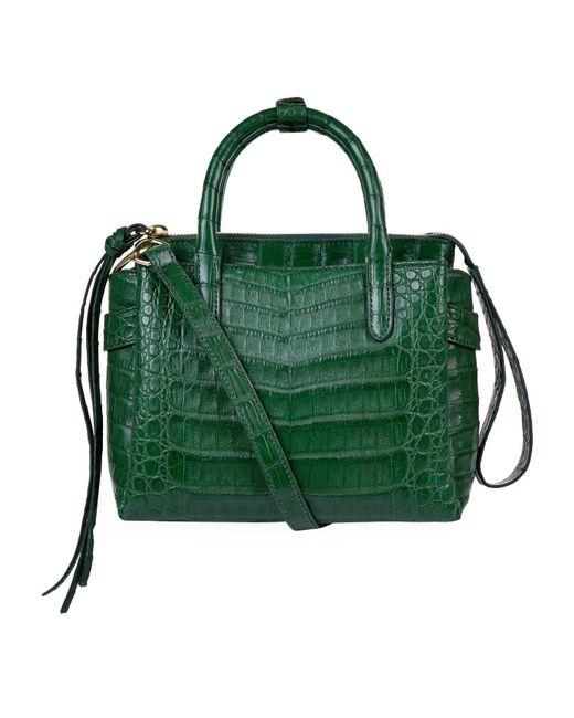 Nancy Gonzalez - Green Small Crocodile Cristy Tote Bag - Lyst