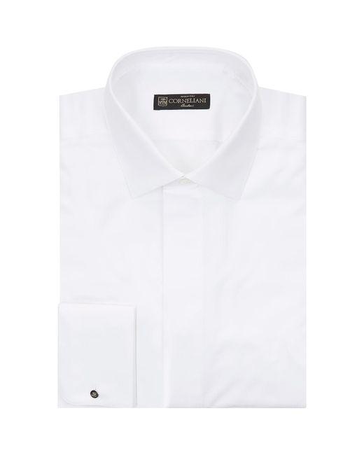 Corneliani - White Cotton Piqu Shirt for Men - Lyst