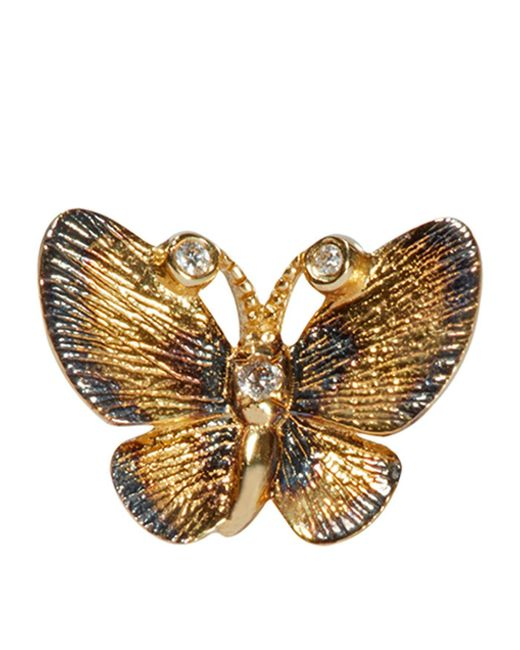 Annoushka - Metallic Butterflies Single Stud Earring - Lyst