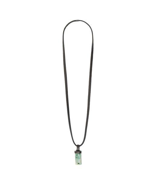 Eskandar - Green Pendant Necklace - Lyst