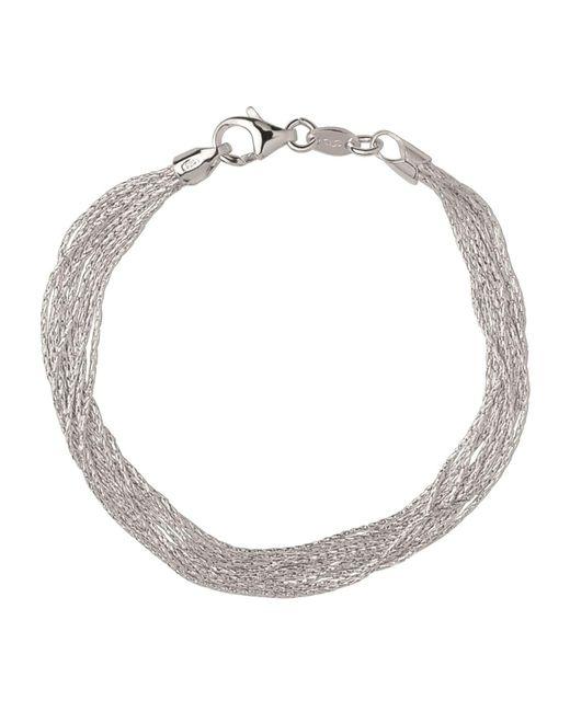 Links of London - Metallic Sterling Silver Essentials Silk 10 Row Bracelet - Lyst