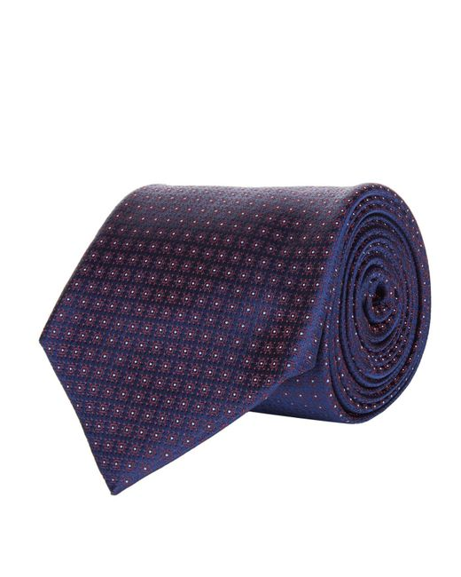 Corneliani   Blue Mini Circle Tie for Men   Lyst