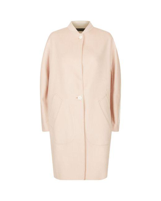 Rag & Bone   Pink Darwen Wool Coat   Lyst