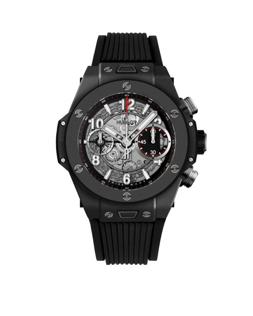Hublot - Black Big Bang Unico 45mm Watch for Men - Lyst