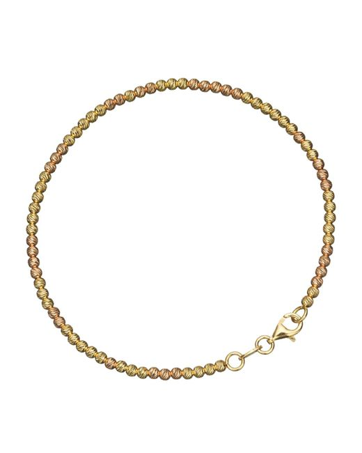 Carolina Bucci - White Yellow And Rose Gold Disco Ball Bracelet - Lyst
