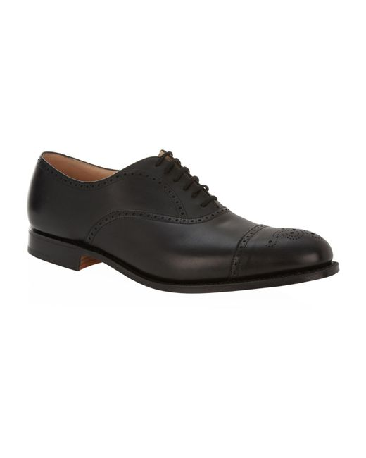 Church's - Black Toronto Punched Oxford Shoe for Men - Lyst