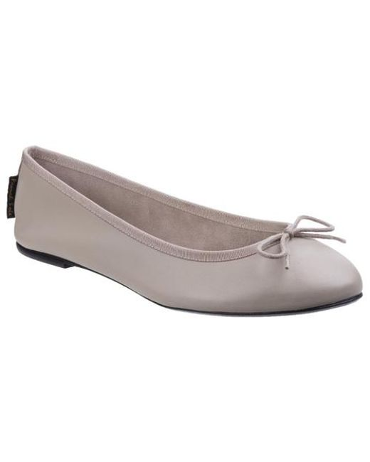 French Sole - Gray Classic Ballet Ballerina Leather - Lyst