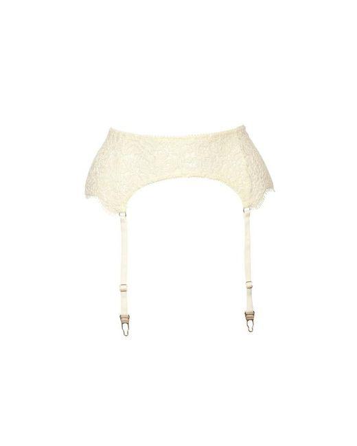 Fréolic London - White Grace Ivory Suspender - Lyst