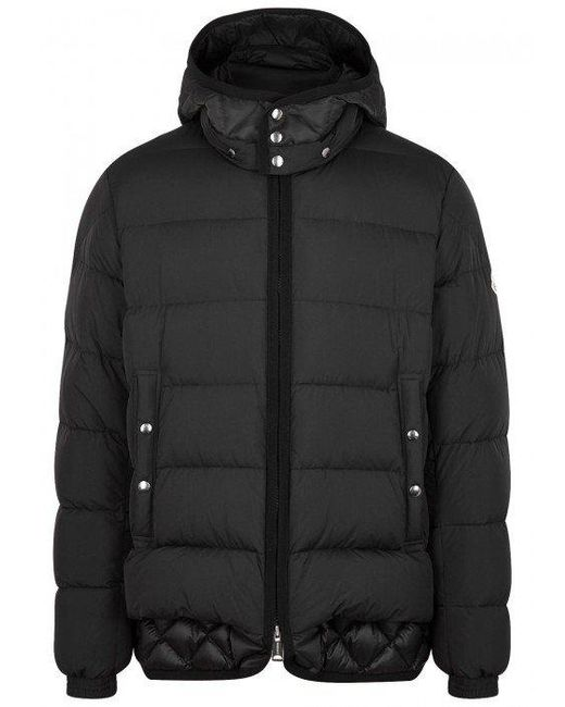 Moncler | Black Tanguy Quilted Shell Jacket for Men | Lyst