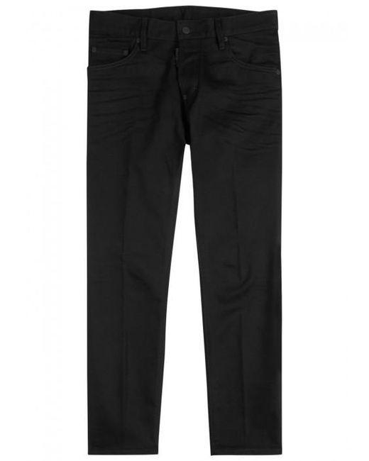 DSquared² | Skater Black Skinny Jeans for Men | Lyst
