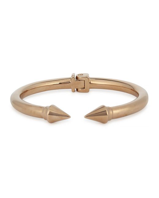 Vita Fede | Metallic Mini Titan Rose Gold-plated Bracelet | Lyst