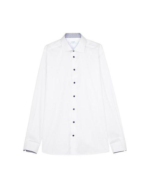 Eton of Sweden - White Contemporary Cotton Twill Shirt - Lyst