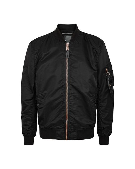 Alpha Industries - Ma-1 Black Shell Bomber Jacket - Size L for Men - Lyst