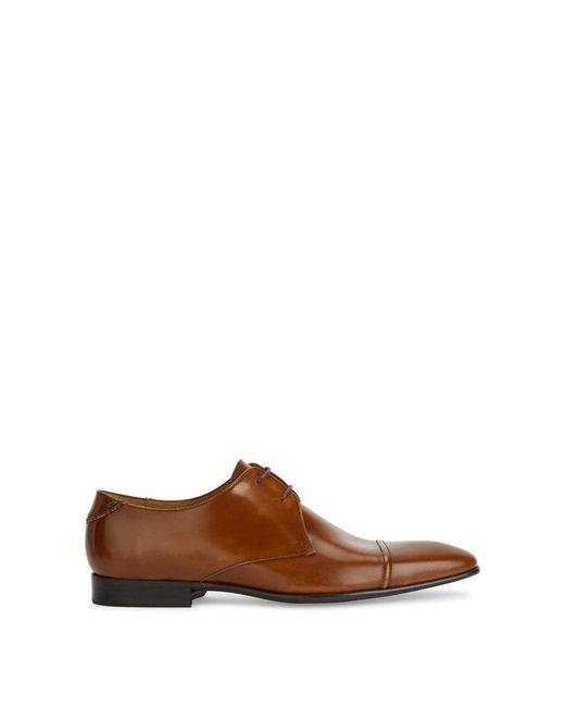 Paul Smith Men's Coney Suede Derby Shoes - Tan - UK 10 ZDqjJyZ
