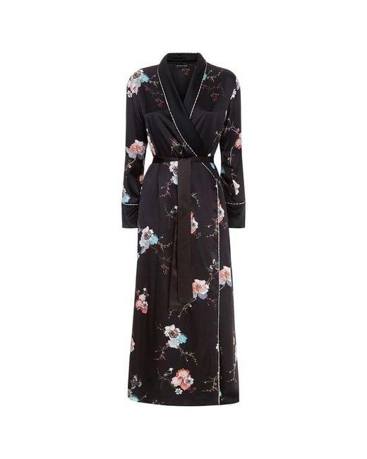 Meng - Black Shawl-collared Robe - Lyst