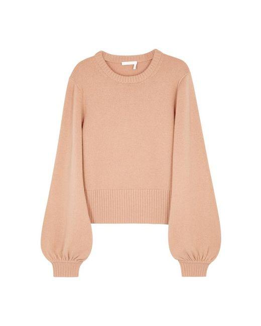 Chloé - Pink Blush Cashmere Jumper - Lyst