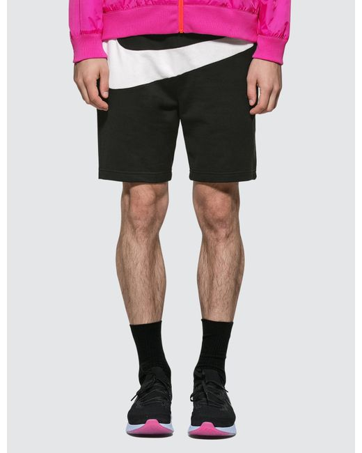 63bf93a005c500 Nike - Black French Terry Men s Shorts for Men - Lyst ...